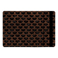 Scales3 Black Marble & Dull Brown Leather (r) Apple Ipad Pro 10 5   Flip Case by trendistuff