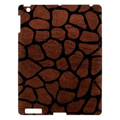 Skin1 Black Marble & Dull Brown Leather (r) Apple Ipad 3/4 Hardshell Case by trendistuff