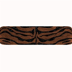 Skin2 Black Marble & Dull Brown Leather Large Bar Mats by trendistuff