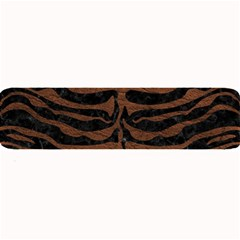 Skin2 Black Marble & Dull Brown Leather (r) Large Bar Mats by trendistuff