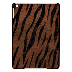 Skin3 Black Marble & Dull Brown Leather Ipad Air Hardshell Cases by trendistuff