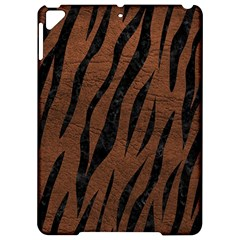 Skin3 Black Marble & Dull Brown Leather Apple Ipad Pro 9 7   Hardshell Case by trendistuff
