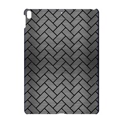 Brick2 Black Marble & Gray Brushed Metal Apple Ipad Pro 10 5   Hardshell Case by trendistuff
