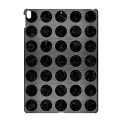 Circles1 Black Marble & Gray Brushed Metal Apple Ipad Pro 10 5   Hardshell Case by trendistuff