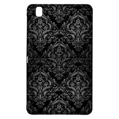 Damask1 Black Marble & Gray Brushed Metal (r) Samsung Galaxy Tab Pro 8 4 Hardshell Case by trendistuff