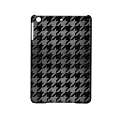 Houndstooth1 Black Marble & Gray Brushed Metal Ipad Mini 2 Hardshell Cases by trendistuff