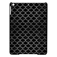 Scales1 Black Marble & Gray Brushed Metal (r) Ipad Air Hardshell Cases by trendistuff