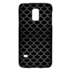 Scales1 Black Marble & Gray Brushed Metal (r) Galaxy S5 Mini by trendistuff