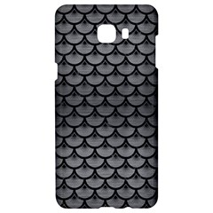 Scales3 Black Marble & Gray Brushed Metal Samsung C9 Pro Hardshell Case  by trendistuff