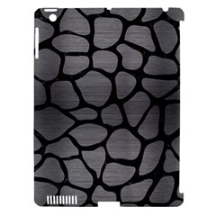 Skin1 Black Marble & Gray Brushed Metal (r) Apple Ipad 3/4 Hardshell Case (compatible With Smart Cover) by trendistuff