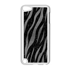 Skin3 Black Marble & Gray Brushed Metal (r) Apple Ipod Touch 5 Case (white) by trendistuff