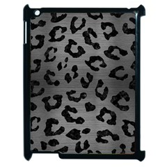 Skin5 Black Marble & Gray Brushed Metal (r) Apple Ipad 2 Case (black) by trendistuff