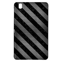 Stripes3 Black Marble & Gray Brushed Metal Samsung Galaxy Tab Pro 8 4 Hardshell Case by trendistuff