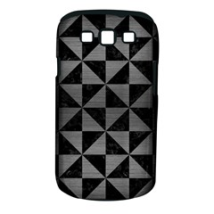 Triangle1 Black Marble & Gray Brushed Metal Samsung Galaxy S Iii Classic Hardshell Case (pc+silicone) by trendistuff