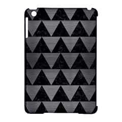 Triangle2 Black Marble & Gray Brushed Metal Apple Ipad Mini Hardshell Case (compatible With Smart Cover) by trendistuff