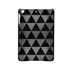 Triangle3 Black Marble & Gray Brushed Metal Ipad Mini 2 Hardshell Cases by trendistuff