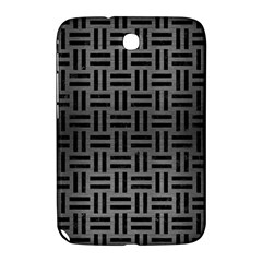 Woven1 Black Marble & Gray Brushed Metal Samsung Galaxy Note 8 0 N5100 Hardshell Case  by trendistuff