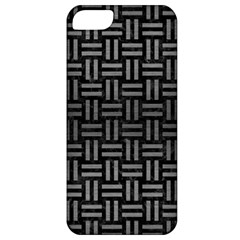 Woven1 Black Marble & Gray Brushed Metal (r) Apple Iphone 5 Classic Hardshell Case by trendistuff