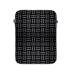 Woven1 Black Marble & Gray Brushed Metal (r) Apple Ipad 2/3/4 Protective Soft Cases by trendistuff