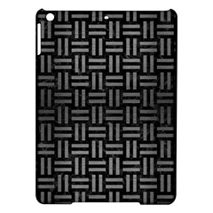 Woven1 Black Marble & Gray Brushed Metal (r) Ipad Air Hardshell Cases by trendistuff