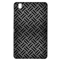 Woven2 Black Marble & Gray Brushed Metal Samsung Galaxy Tab Pro 8 4 Hardshell Case by trendistuff