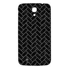 Brick2 Black Marble & Gray Denim (r) Samsung Galaxy Mega I9200 Hardshell Back Case by trendistuff