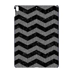 Chevron3 Black Marble & Gray Denim Apple Ipad Pro 10 5   Hardshell Case by trendistuff