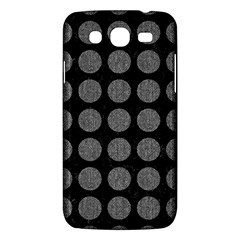 Circles1 Black Marble & Gray Denim (r) Samsung Galaxy Mega 5 8 I9152 Hardshell Case  by trendistuff
