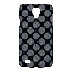 Circles2 Black Marble & Gray Denim (r) Galaxy S4 Active by trendistuff