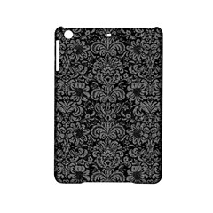 Damask2 Black Marble & Gray Denim (r) Ipad Mini 2 Hardshell Cases by trendistuff