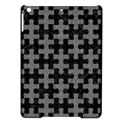 Puzzle1 Black Marble & Gray Denim Ipad Air Hardshell Cases by trendistuff