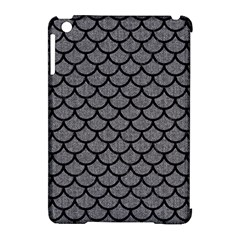 Scales1 Black Marble & Gray Denim Apple Ipad Mini Hardshell Case (compatible With Smart Cover) by trendistuff