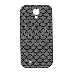 Scales1 Black Marble & Gray Denim Samsung Galaxy S4 I9500/i9505  Hardshell Back Case by trendistuff