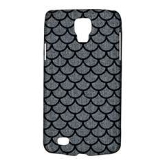 Scales1 Black Marble & Gray Denim Galaxy S4 Active by trendistuff