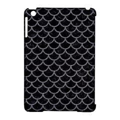 Scales1 Black Marble & Gray Denim (r) Apple Ipad Mini Hardshell Case (compatible With Smart Cover) by trendistuff