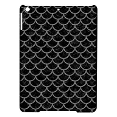 Scales1 Black Marble & Gray Denim (r) Ipad Air Hardshell Cases by trendistuff
