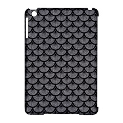 Scales3 Black Marble & Gray Denim Apple Ipad Mini Hardshell Case (compatible With Smart Cover) by trendistuff