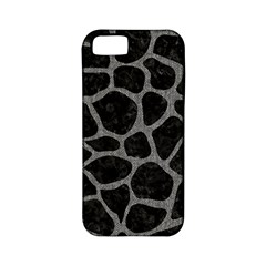 Skin1 Black Marble & Gray Denim Apple Iphone 5 Classic Hardshell Case (pc+silicone) by trendistuff