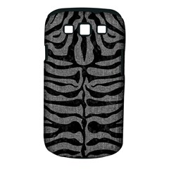 Skin2 Black Marble & Gray Denim Samsung Galaxy S Iii Classic Hardshell Case (pc+silicone) by trendistuff