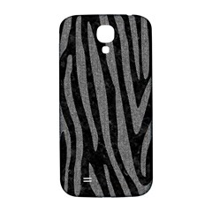 Skin4 Black Marble & Gray Denim Samsung Galaxy S4 I9500/i9505  Hardshell Back Case