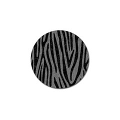 Skin4 Black Marble & Gray Denim (r) Golf Ball Marker by trendistuff