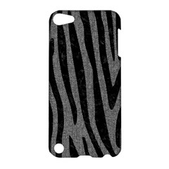 Skin4 Black Marble & Gray Denim (r) Apple Ipod Touch 5 Hardshell Case by trendistuff