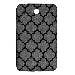 Tile1 Black Marble & Gray Denim Samsung Galaxy Tab 3 (7 ) P3200 Hardshell Case  by trendistuff