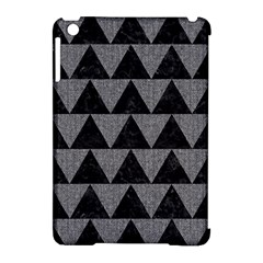 Triangle2 Black Marble & Gray Denim Apple Ipad Mini Hardshell Case (compatible With Smart Cover) by trendistuff