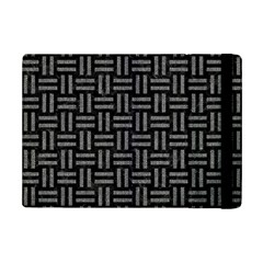 Woven1 Black Marble & Gray Denim (r) Ipad Mini 2 Flip Cases by trendistuff