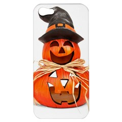 Funny Halloween Pumpkins Apple Iphone 5 Hardshell Case by gothicandhalloweenstore