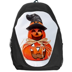 Funny Halloween Pumpkins Backpack Bag by gothicandhalloweenstore