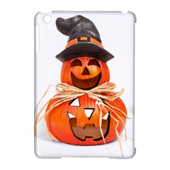 Funny Halloween Pumpkins Apple Ipad Mini Hardshell Case (compatible With Smart Cover) by gothicandhalloweenstore