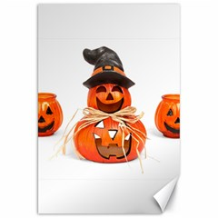 Funny Halloween Pumpkins Canvas 20  X 30   by gothicandhalloweenstore