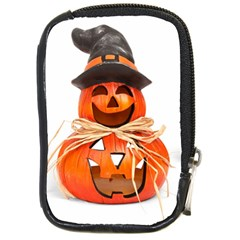 Funny Halloween Pumpkins Compact Camera Cases by gothicandhalloweenstore
